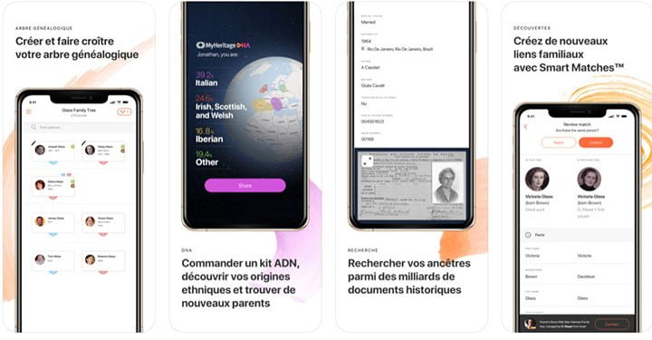 myheritage-avis-application-mobile