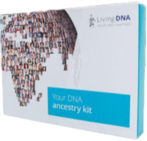 Living DNA ancestry-kit