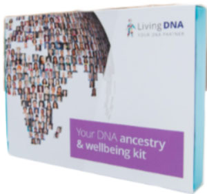 Living DNA your-dna-ancestry-et-wellbeing-kit